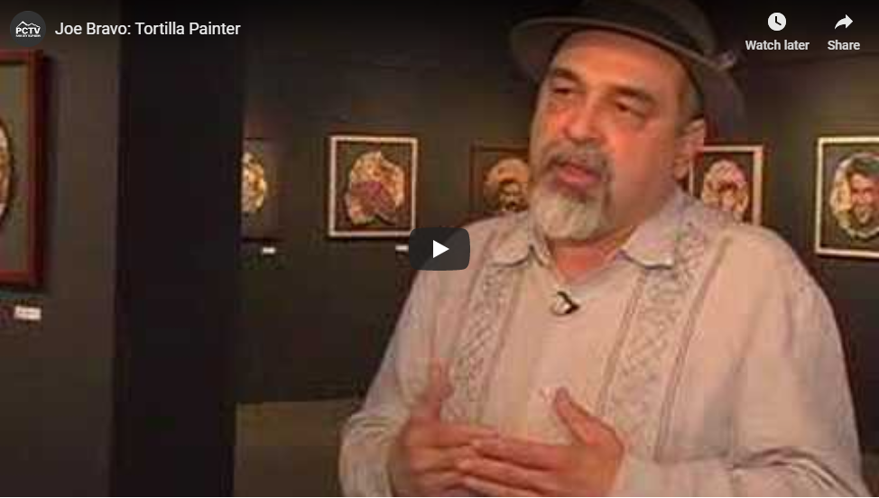 Joe Bravo Tortilla Painter Kimball Art Center Img